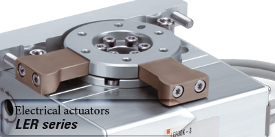 New electrical actuators from SMC